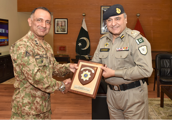 IG Motorways Amir Zulfiqar Khan Visit to HQ FWO